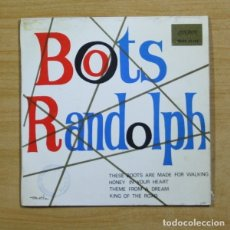 Discos de vinilo: BOOTS RANDOLPH - THESE BOOTS ARE MADE FOR WALKING + 3 - EP. Lote 155761652