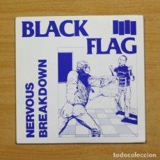 Discos de vinilo: BLACK FLAG - NERVOUS BREAKDOWN + 3 - EP. Lote 155762038