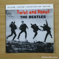 Discos de vinilo: THE BEATLES - TWIST AND SHOUT + 3 - EP. Lote 155762466