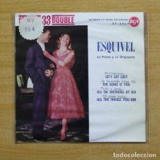 Discos de vinilo: ESQUIVEL - LET´S GET LOST + 3 - EP. Lote 155763846