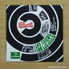 Discos de vinilo: LOS BRAVOS - LOS CHICOS CON LAS CHICAS + 3 - EP. Lote 155765193
