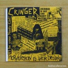 Discos de vinilo: CRINGER - PERVERSION IS THEIR DESTINY - EP. Lote 155766422