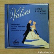 Discos de vinilo: NORRIE PARAMOR - FASCINACION + 3 - EP. Lote 155768104