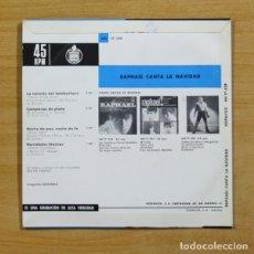 Discos de vinilo: RAPHAEL - LA CANCION DEL TAMBORILERO - SINGLE. Lote 155770728
