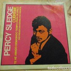 Discos de vinilo: PERCY SLEDGE – CUBREME - SINGLE 1967. Lote 155779934
