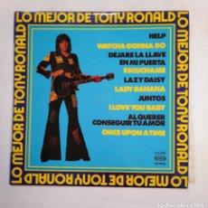 Discos de vinilo: TONY RONALD. - LO MEJOR DE TONY RONALD. LP. TDKLP. Lote 155780406