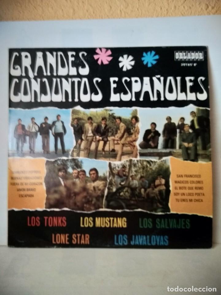 VINILO GRANDES CONJUNTOS ESPAÑOLES 1968 (Música - Discos de Vinilo - Maxi Singles - Grupos Españoles 50 y 60)