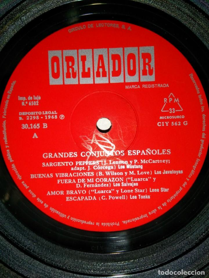 Discos de vinilo: VINILO GRANDES CONJUNTOS ESPAÑOLES 1968 - Foto 4 - 155781314