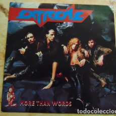 Discos de vinilo: EXTREME – MORE THAN WORDS - SINGLE UK. Lote 155781558