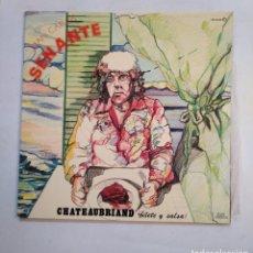 Discos de vinilo: JUAN CARLOS SENANTE. - CHATEAUBRIAND - LP. TDKLP. Lote 155782762