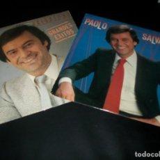 Discos de vinilo: PAOLO SALVATORE - LOTE DE 2 LP´S - ,LA LADRONA Y SUS GRANDES EXITOS - BUEN ESTADO - HISPAVOX . Lote 155782810