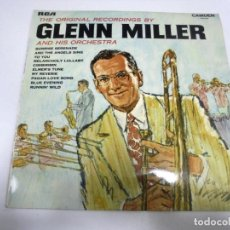 Discos de vinilo: LP. THE ORIGINAL RECORDINGS BY GLENN MILLER AND HIS ORCHESTRA. 1969. RCA. Lote 155784746