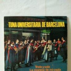 Discos de vinilo: VINILO DE 45 R.P.M TUNA UNIVERSITARIA DE BARCELONA 1967. Lote 155784982
