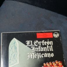 Discos de vinilo: VINILO, ORFEÓN INFANTIL MEJICANO. Lote 155785044