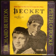 Discos de vinilo: BSO BECKETT - LAURENCE ROSENTHAL. Lote 155787370