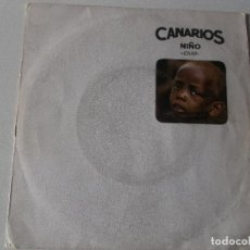 Discos de vinilo: CANARIOS SG MOVIEPLAY 1968 CHILD (NIÑO)/ REQUIEM FOR A SOUL MOD SOUL. Lote 155792546