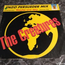 Discos de vinilo: THE CREATURES - MAYBE ONE DAY (REMIX '94). Lote 155795624