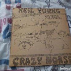 Discos de vinilo: NEIL YOUNG (LP) ZUMA AÑO 1975 –REPRISE RECORDS FRANCE- HOJA INTERIOR CON LETRAS. Lote 155800306
