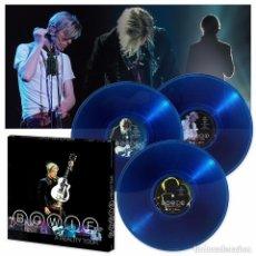 Discos de vinilo: DAVID BOWIE - A REALITY TOUR ...3 LP ´S DE COLOR AZUL - NUEVO - PRECINTADO . Lote 155801154
