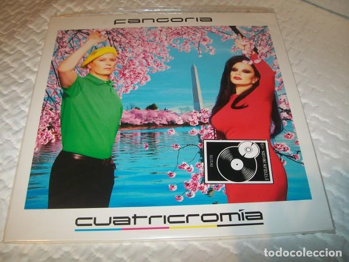 FANGORIA - CUATRICROMIA .. EDICION MUY BUSCADA DEL FORMATO 2 LP,S DE VINILO + CD COMPLETO (Música - Discos - LP Vinilo - Grupos Españoles de los 90 a la actualidad)