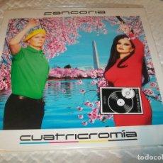 Discos de vinilo: FANGORIA - CUATRICROMIA .. EDICION MUY BUSCADA DEL FORMATO 2 LP,S DE VINILO + CD COMPLETO. Lote 155808326