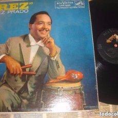 Discos de vinilo: PEREZ PRADO PREZ LP (RCA-VICTOR -1958) OG PRIMERA EDICION MONO USA EXCELENTE ESTADO. Lote 155809966