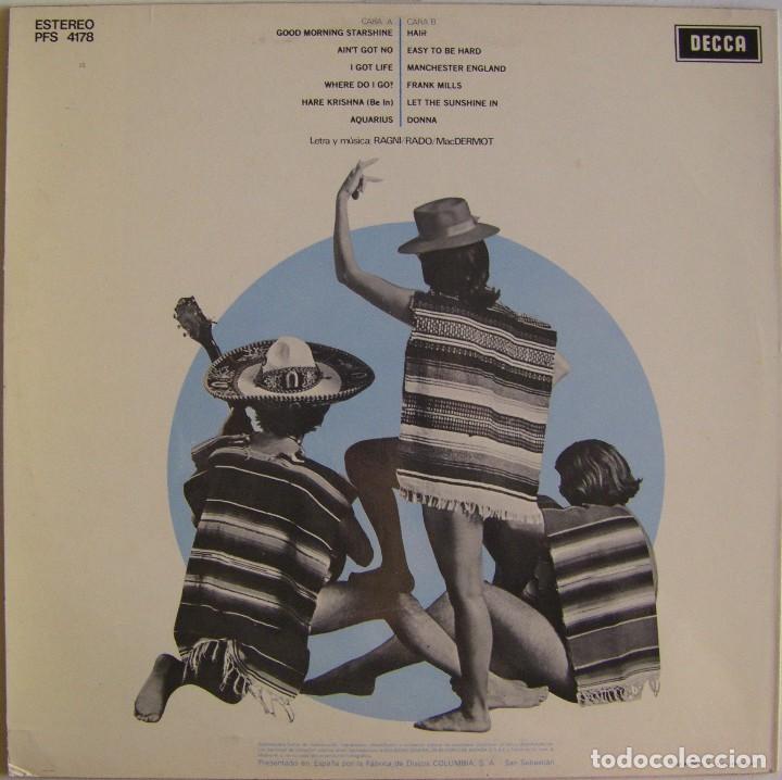 Discos de vinilo: Edmundo Ros Y Su Orquesta – Hair Goes Latin, Decca – PFS 4178, Decca – PFS. 4.178 - Foto 2 - 155818918