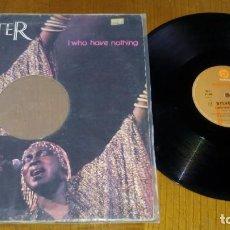Discos de vinilo: SYLVESTER–I WHO HAVE NOTHING . Lote 155824702