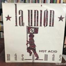 Discos de vinilo: MÁS Y MÁS - LA UNIÓN. Lote 155827098