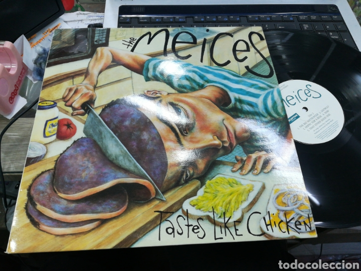 THE MEICES LP TASTES LIKE CHICKEN U.S.A. 1994 (Música - Discos - LP Vinilo - Punk - Hard Core)