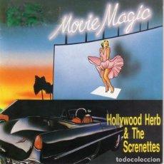 Discos de vinilo: HOLLYWOOD HERB & SCRENETTES – MOVIE MAGIC - MAXI-SINGLE KEY RECORDS 1987. Lote 155834618