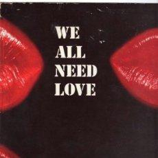 Discos de vinilo: EBONY - WE ALL NEED LOVE - MAXI KEY RECORDS. Lote 155837754