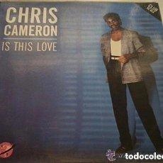 Discos de vinilo: CHRIS CAMERON, IS THIS LOVE, MAXI-SINGLE KEY RECORDS SPAIN 1985. Lote 155838322
