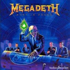 Discos de vinilo: MEGADETH LP RUST IN PEACE REEDICION VINILO . Lote 155839674