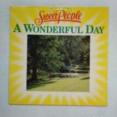 Discos de vinilo: A WONDERFUL DAY. SWEET PEOPLE. LP. TDKDA35. Lote 155840390