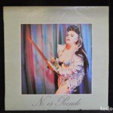 Discos de vinilo: ALASKA Y DINARAMA - NO ES PECADO - LP. Lote 155841598