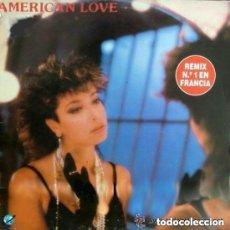 Discos de vinilo: ROSE LAURENS - AMERICAN LOVE (REMIX) MAXI-SINGLE KEY RECORDS SPAIN 1986. Lote 155841882