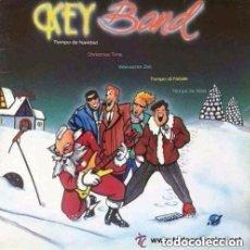 Discos de vinilo: KEY BAND, CHRISTMAS TIME (TIEMPO DE NAVIDAD) - MAXI-SINGLE KEY RECORDS SPAIN 1986. Lote 155842354