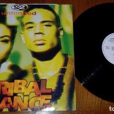 Discos de vinilo: 2 UNLIMITED – TRIBAL DANCE . Lote 155843678