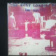 Discos de vinilo: VARIOS - THE ROXY LONDON (JAN - APR 77). Lote 155847238