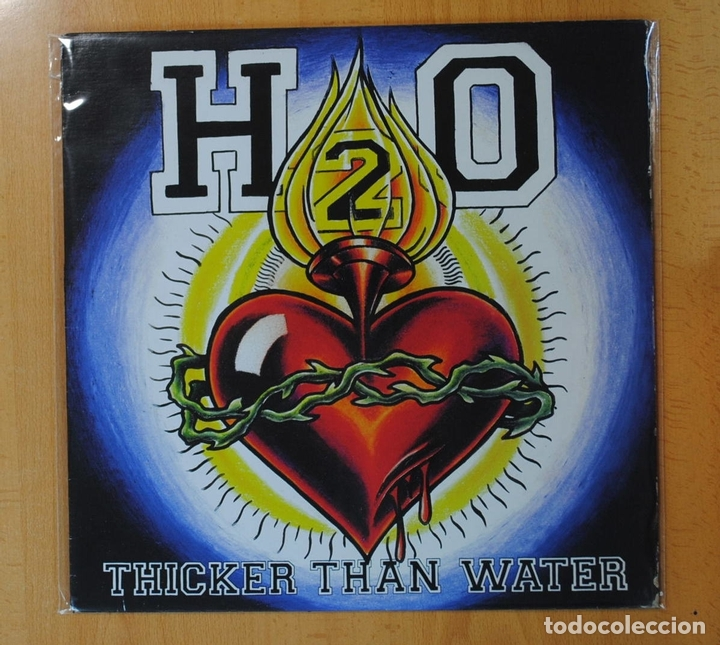 H2O - THICKER THAN WATER - LP (Música - Discos - LP Vinilo - Pop - Rock Extranjero de los 90 a la actualidad)