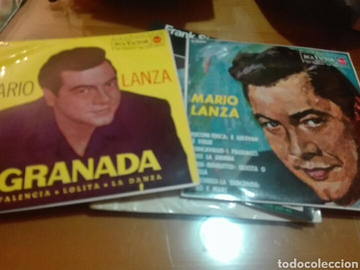 LOTE 2 DISCOS VINILO MARIO LANZA (Música - Discos - Singles Vinilo - Clásica, Ópera, Zarzuela y Marchas)