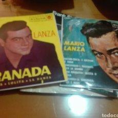 Discos de vinilo: LOTE 2 DISCOS VINILO MARIO LANZA. Lote 155848561