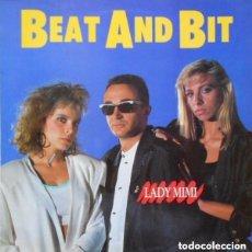 Discos de vinilo: BEAT AND BIT - LADY MIMI - MAXI-SINGLE DISCOS GAMES 1987. Lote 155848934