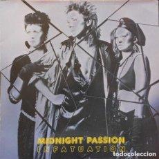 Discos de vinilo: MIDNIGHT PASSION - INFATUATION - MAXI-SINGLE DISCOS GAMES 1987. Lote 155849566