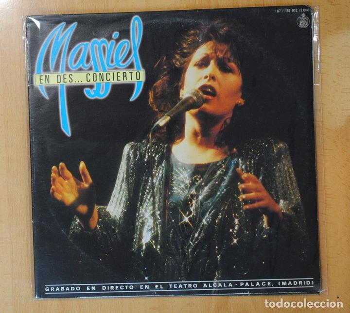 MASSIEL - EN DES... CONCIERTO - GATEFOLD - LP (Música - Discos - LP Vinilo - Solistas Españoles de los 70 a la actualidad)