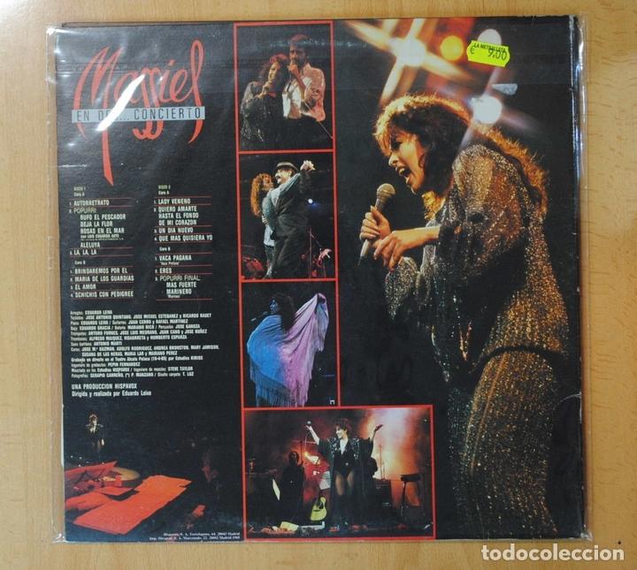 Discos de vinilo: MASSIEL - EN DES... CONCIERTO - GATEFOLD - LP - Foto 2 - 155849741