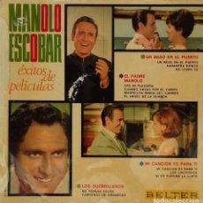 Discos de vinilo: LP MANOLO ESCOBAR. Lote 155852978
