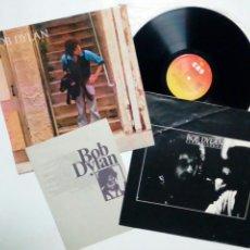 Discos de vinilo: LP - BOB DYLAN : STREET LEGAL (CBS, 1978) EDICIÓN ESPAÑOLA, CONSERVA SOBRE INTERIOR Y HOJA DE LETRAS. Lote 155852974