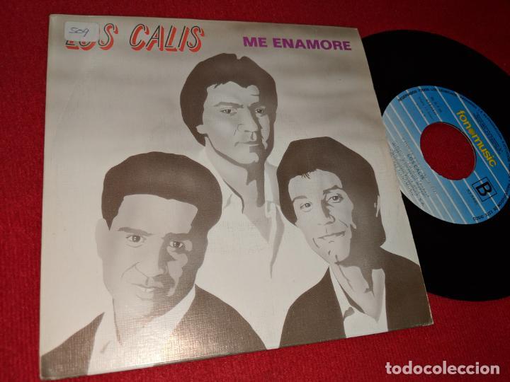 LOS CALIS ME ENAMORE/Y DUELE 7'' SINGLE 1992 FONOMUSIC (Música - Discos - Singles Vinilo - Flamenco, Canción española y Cuplé)
